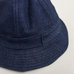 画像3: SWISS BANK [スイス バンク] BUCKET HAT MADE BY FALCON BOWSE DENIM (3)