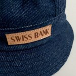 画像2: SWISS BANK [スイス バンク] BUCKET HAT MADE BY FALCON BOWSE DENIM (2)