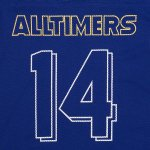 画像2: ALLTIMERS [オールタイマーズ]  WILD SHIT JERSEY ROYAL BLUE (2)