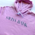 画像2: SWISS BANK / HOODIE - LILAC (2)