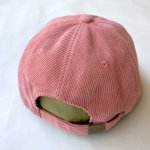"画像3: SWISS BANK ""CORDUROY HAT"" - MELON (3)"