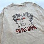 """画像2: SWISS BANK """"GODDESS L/S TEE"""" - TAN (2)"""