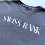 画像2: SWISS BANK / CREW NECK - DARK GREY (2)