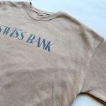 画像3: SWISS BANK / CREW NECK - TAN (3)