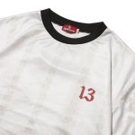 "画像4: HELLRAZOR ""13 FOOTBALL JERSEY"" - WHITE (4)"