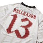 "画像3: HELLRAZOR ""13 FOOTBALL JERSEY"" - WHITE (3)"