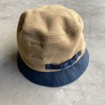 "画像2: NOROLL ""FLEECE BUCKET"" -  BEIGE (2)"