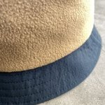 "画像4: NOROLL ""FLEECE BUCKET"" -  BEIGE (4)"