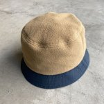 "画像1: NOROLL ""FLEECE BUCKET"" -  BEIGE (1)"