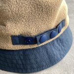 "画像3: NOROLL ""FLEECE BUCKET"" -  BEIGE (3)"