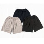 "画像1: COMFORTABLE REASON ""LOUNGE BAKER SHORTS"" - OFF (1)"