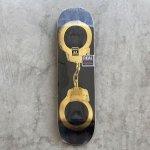 """画像1: REAL SKATEBOARDS """"BUSENITZ GOLD CUFFS DECK"""" - 8.5inch (1)"""