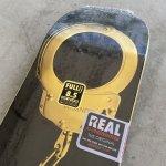 """画像2: REAL SKATEBOARDS """"BUSENITZ GOLD CUFFS DECK"""" - 8.5inch (2)"""