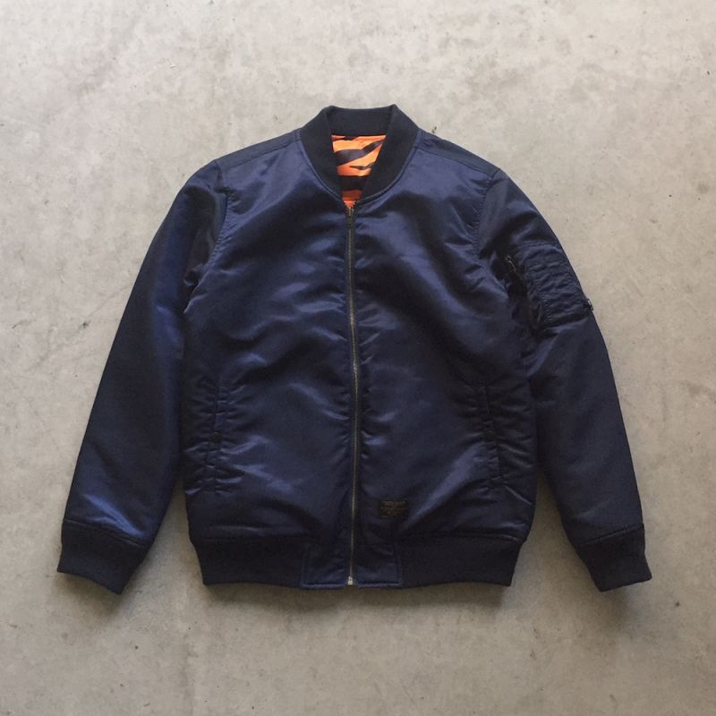 "画像1: FTC ""REVERSIBLE MA-1 JACKET"" - NAVY 30%OFF (1)"