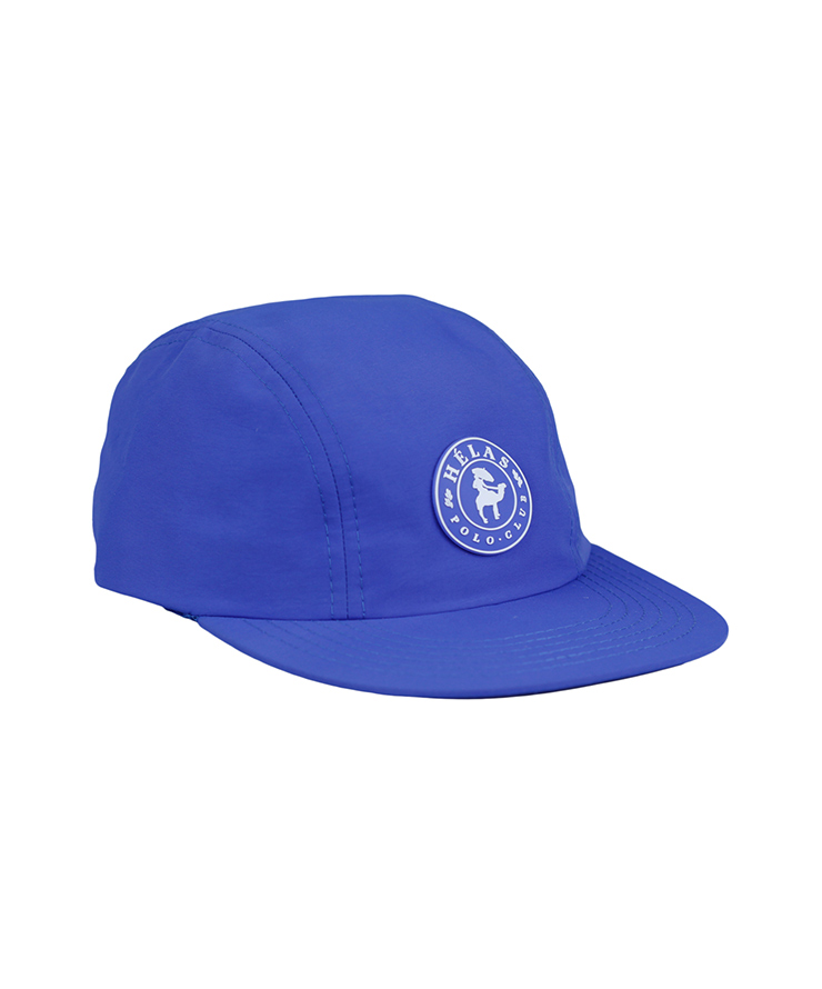 画像1: HELAS [ヘラス] POLO CLUB 3 PANELS CAP BLUE (1)