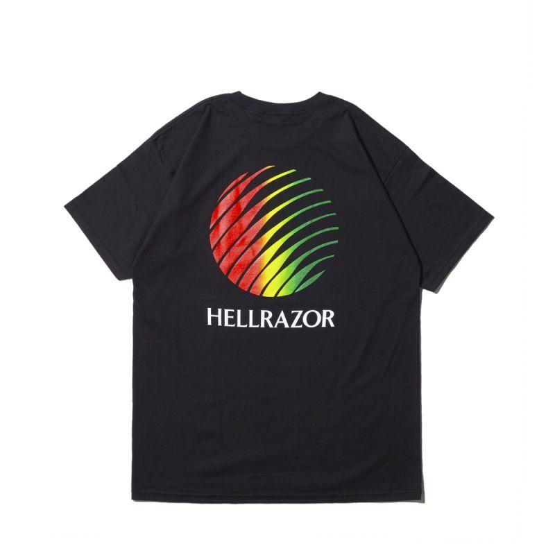 画像1: Hellrazor / Logo Shirt - Black (1)