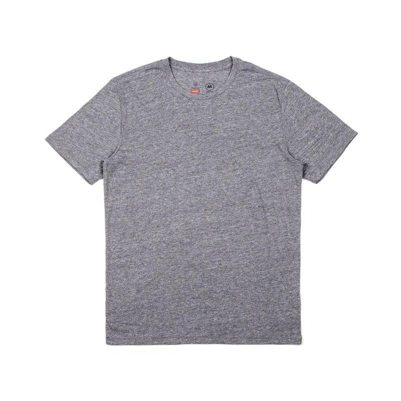 画像1: BRIXTON / BASIC short sleeve PREMIUM TEE - HEATHER GREY (1)