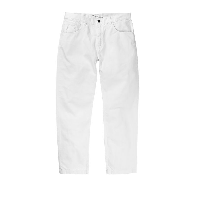 画像1: POLAR SKATE CO. / 90'S JEANS - WHITE (1)