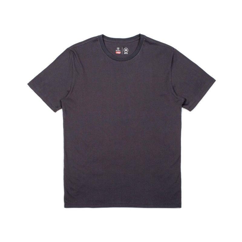 """画像1: BRIXTON """"BASIC short sleeve PREMIUM TEE"""" - WASHED BLACK (1)"""