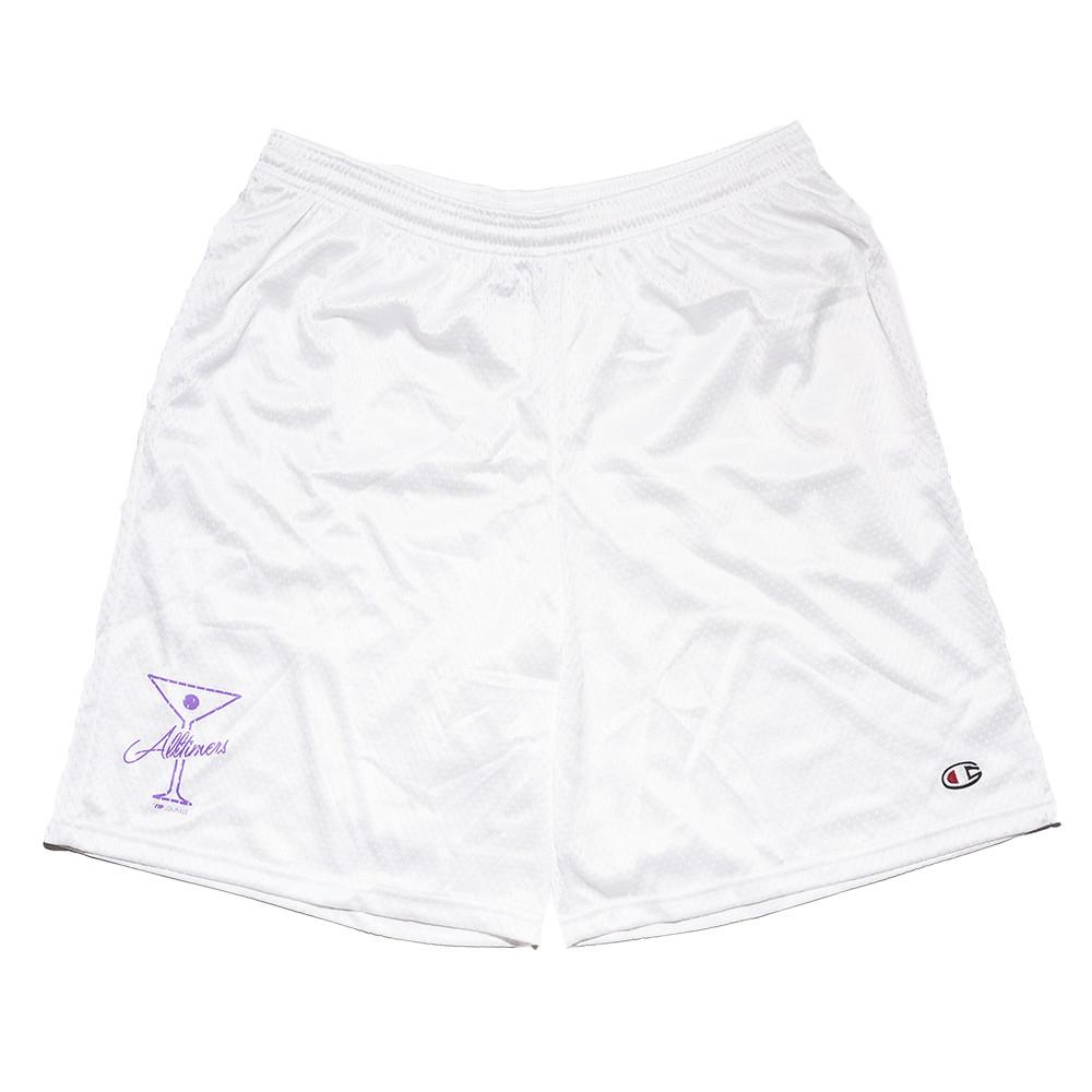 "画像1: ALLTIMERS ""BALL FOREVER SHORTS"" - WHITE (1)"