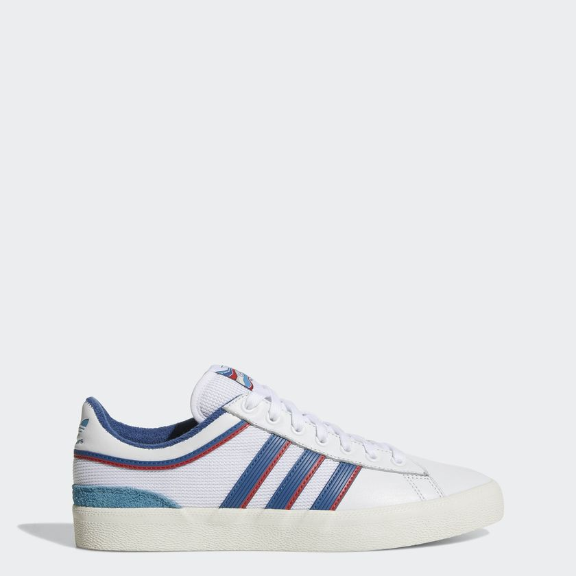 "画像1: 【SALE 30%OFF】 ADIDAS ""CAMPUS VULC X ALLTIMERS"" - RUNNING WHITE/CORE BLUE/SCARLET CG5128 (1)"