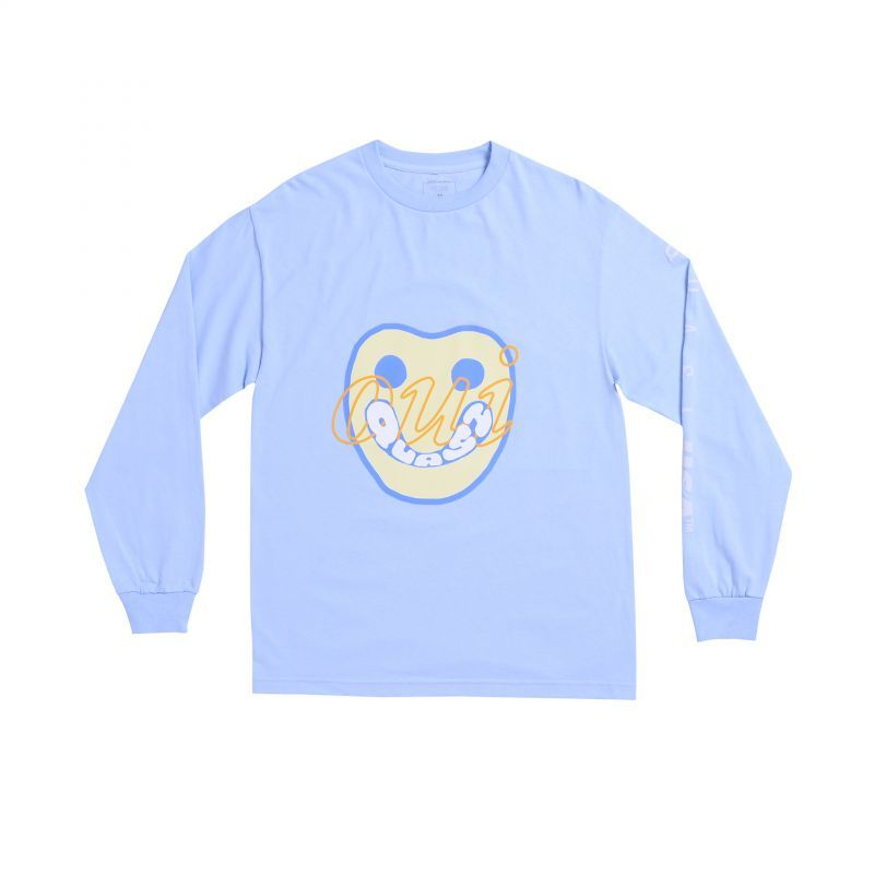 "画像1: QUASI SKATEBOARDS ""YES LS TEE"" - L.BLUE (1)"