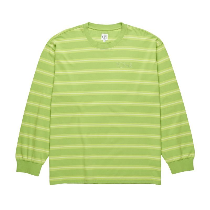 "画像1: POLAR SKATE CO. ""'91 LONGSLEEVE"" - APPLE GREEN (1)"