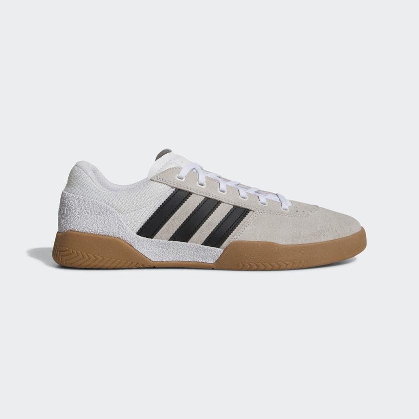 """画像1: 【SALE 30%OFF】 adidas skateboarding """"CITY CUP SHOES' - RUNNING WHITE/CORE BLACK CQ1080 (1)"""
