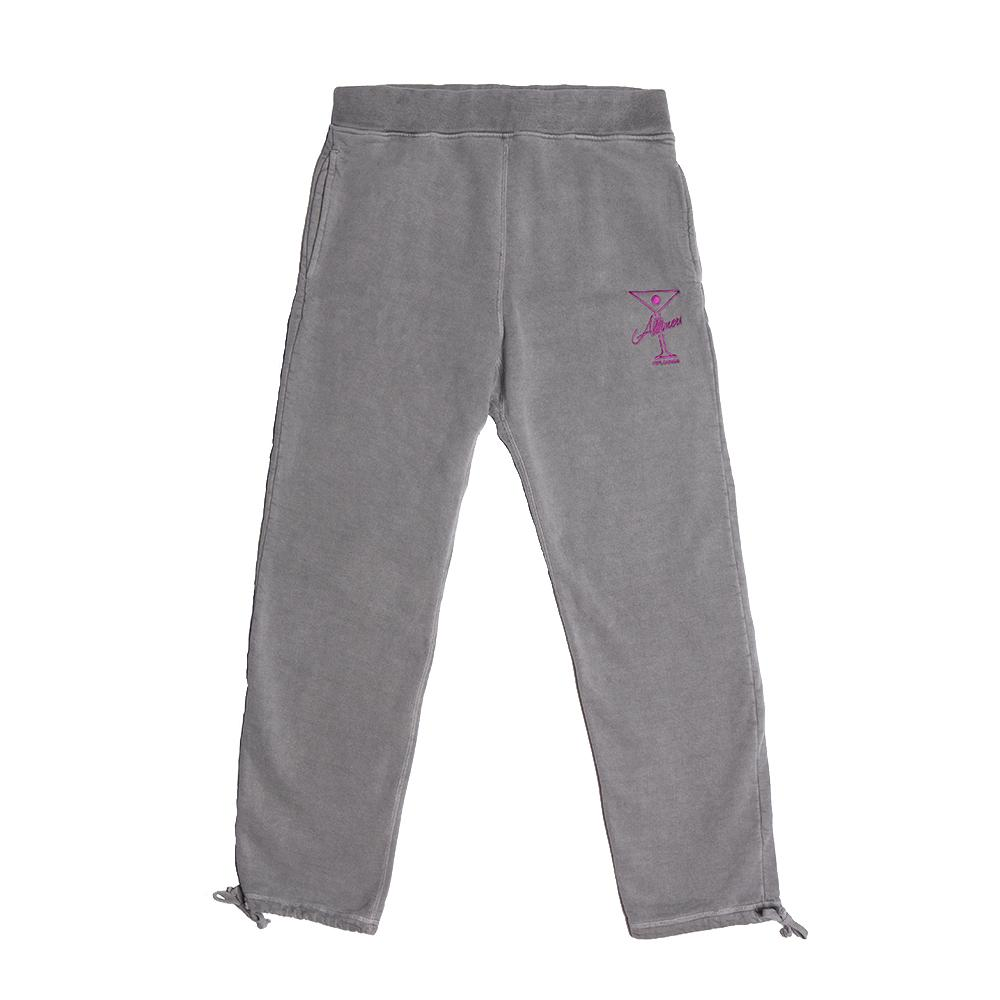 "画像1: ALLTIMERS ""LEAGUE PLAYER SWEATPANTS"" - OVERWASH GREY (1)"