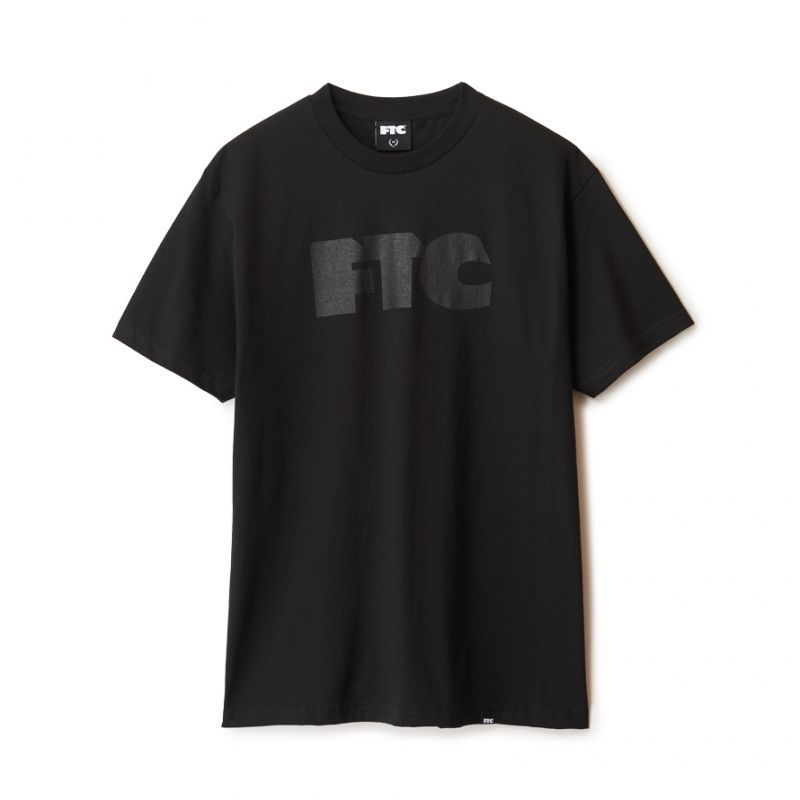 "画像1: FTC ""OG TONAL TEE"" - BLACK (1)"