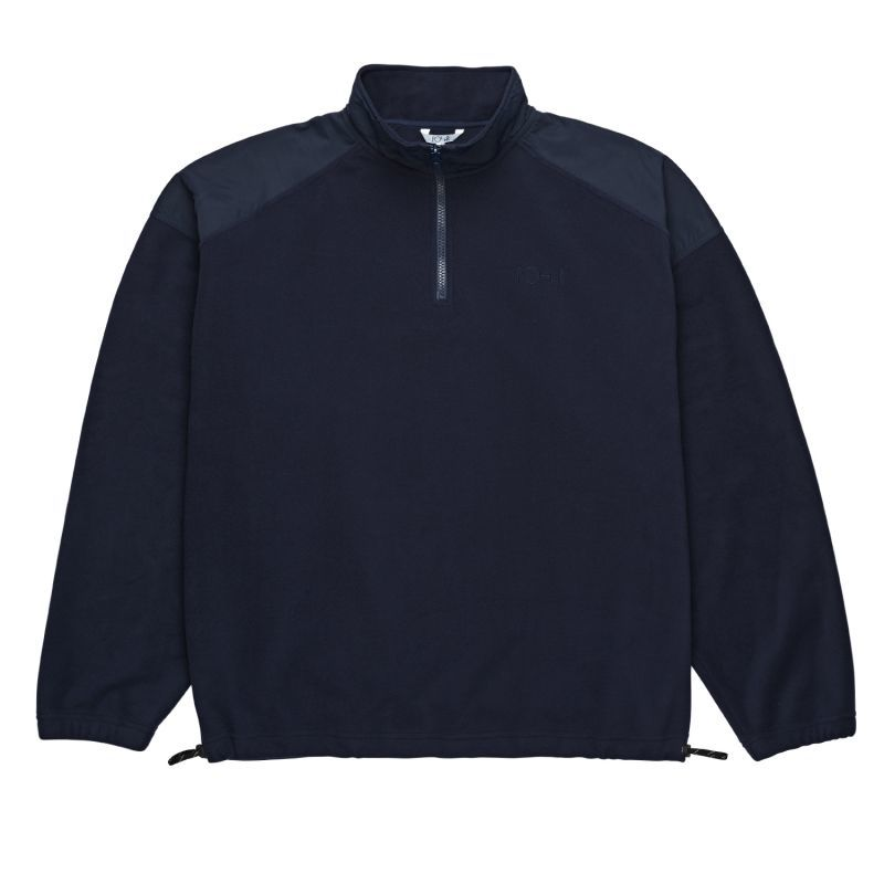 "画像1: POLAR SKATE CO.[ポーラースケート]  ""LIGHTWEIGHT FLEECE PULLOVER""-NAVY (1)"