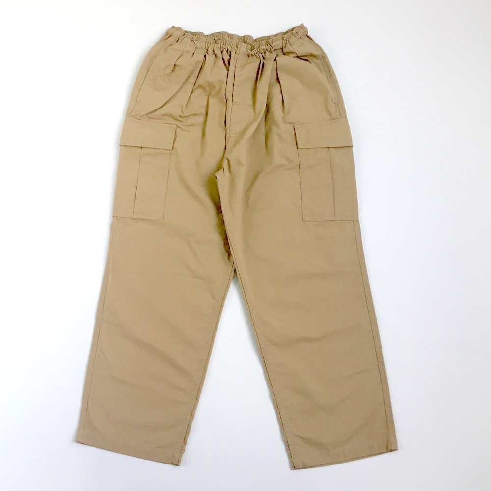 画像1: GOOFY CREATION / TROPICAL COMFORT TROUSERS - SAFARI BEIGE (1)