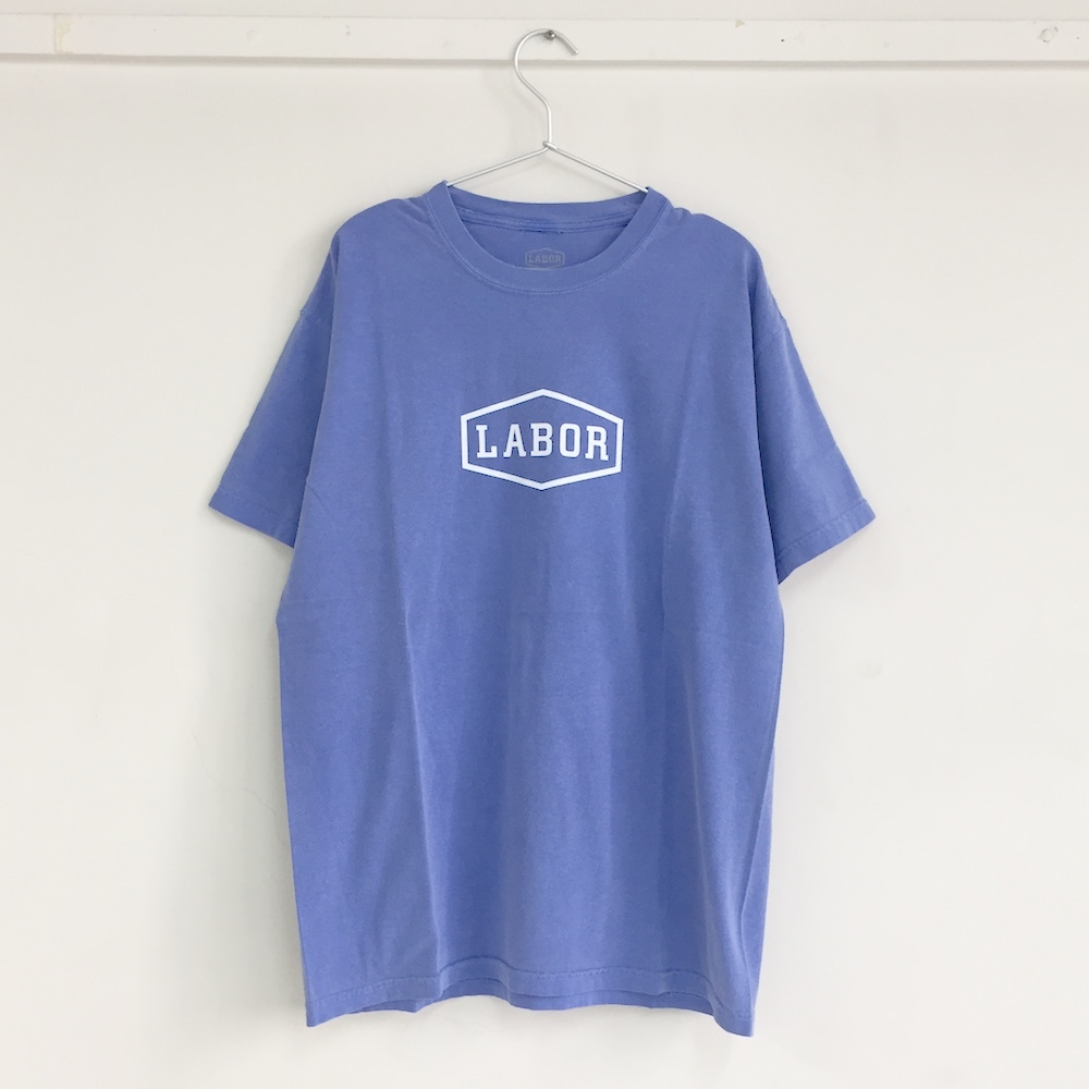 "画像1: LABOR""CREST LOGO TEE""-OVERDYED ROYAL BLUE (1)"