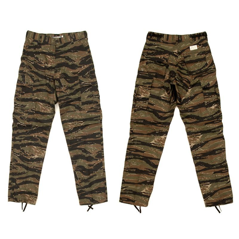 "画像1: COLOR COMMUNICATIONS""BDU TW CARGO""-TIGER CAMO (1)"