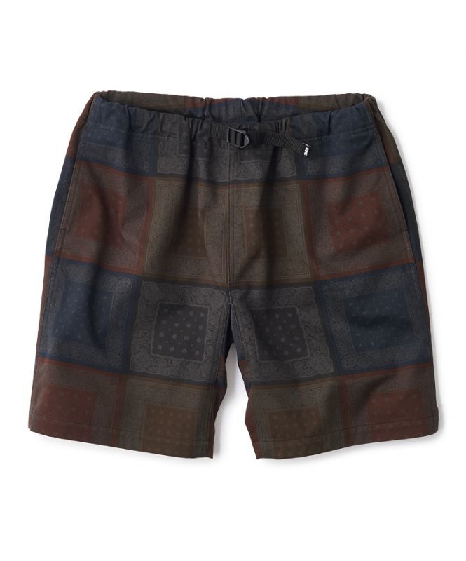 "画像1: FTC ""PAISLEY CLIMBING SHORT"" - BLACK (1)"