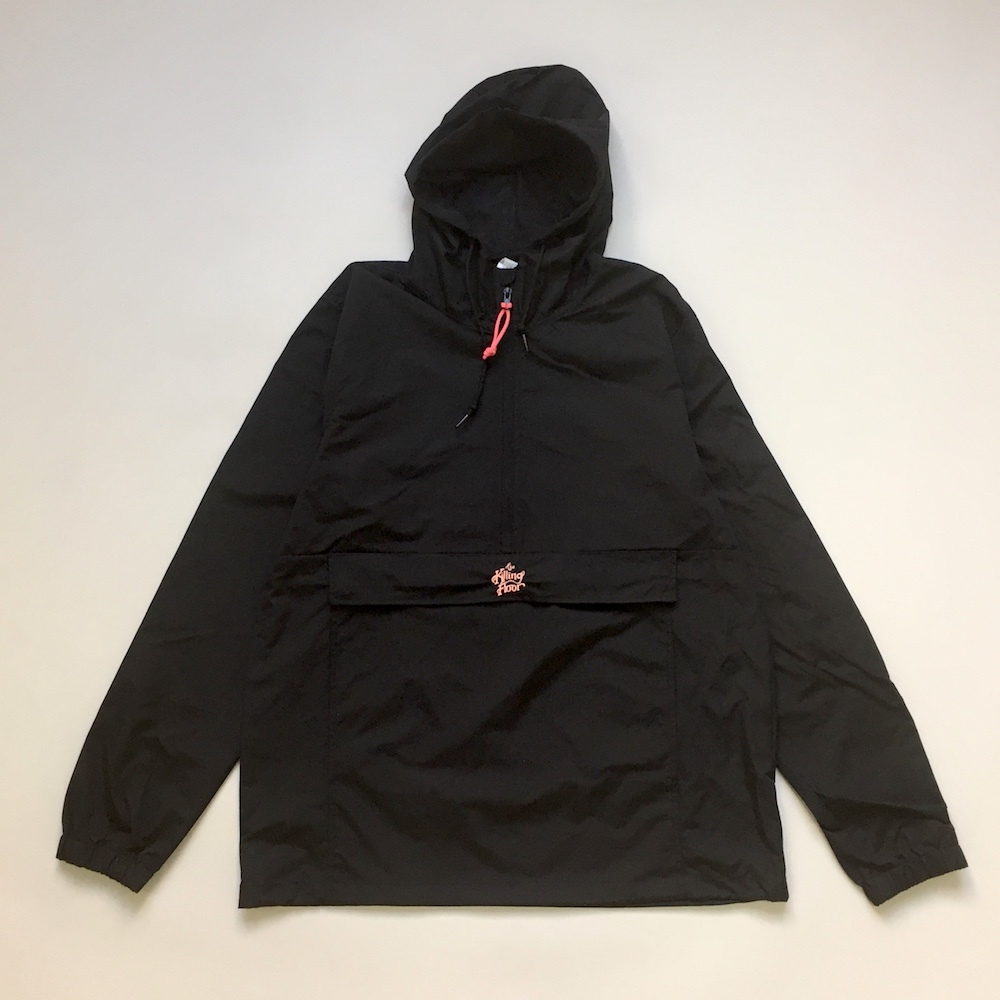画像1: THE KILLING FLOOR [ザ キリング フロア]  92 PULLOVER WINDBREAKER BLACK (1)
