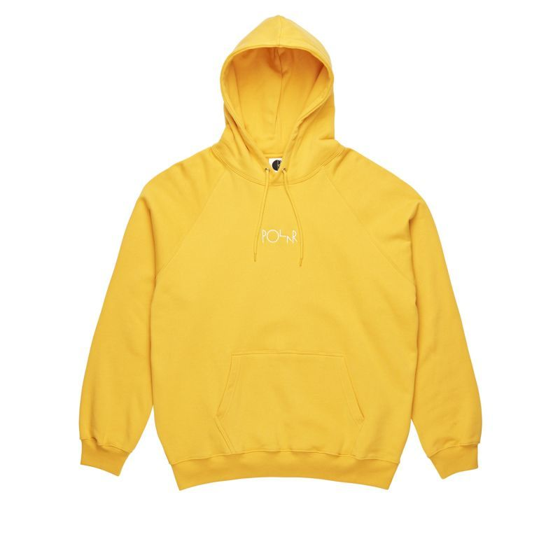 "画像1: POLAR SKATE CO. ""DEFAULT HOODIE"" - YELLOW (1)"