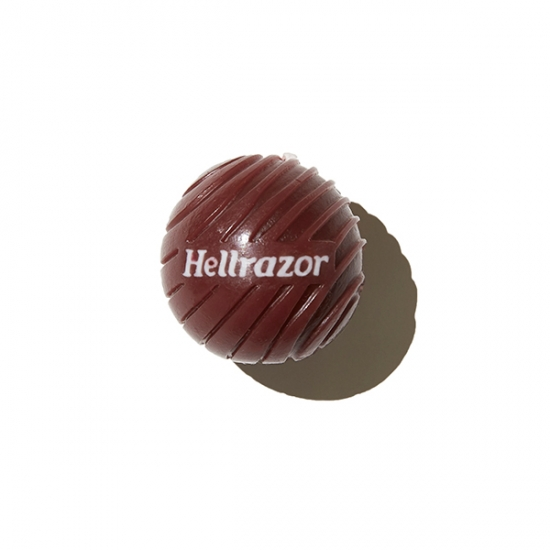 "画像1: HELLRAZOR ""3D LOGO CANDLE WAX"" - BURGUNDY (1)"
