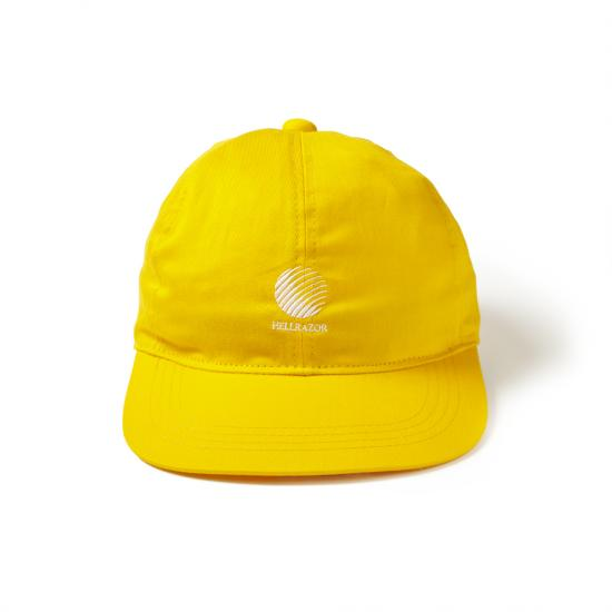 画像1: HELLRAZOR [ヘルレイザー] LOGO 6PANEL CAP YELLOW (1)