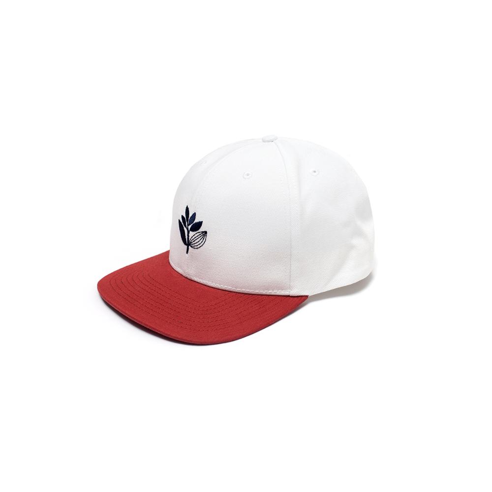 画像1: MAGENTA [マジェンタ] SNAPBACK HAT WHITE (1)