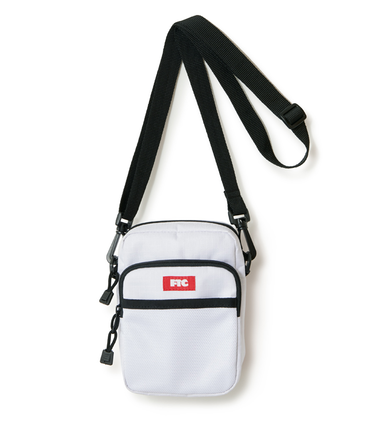 "画像1: FTC ""RIPSTOP MINI SHOULDER BAG"" - WHITE (1)"