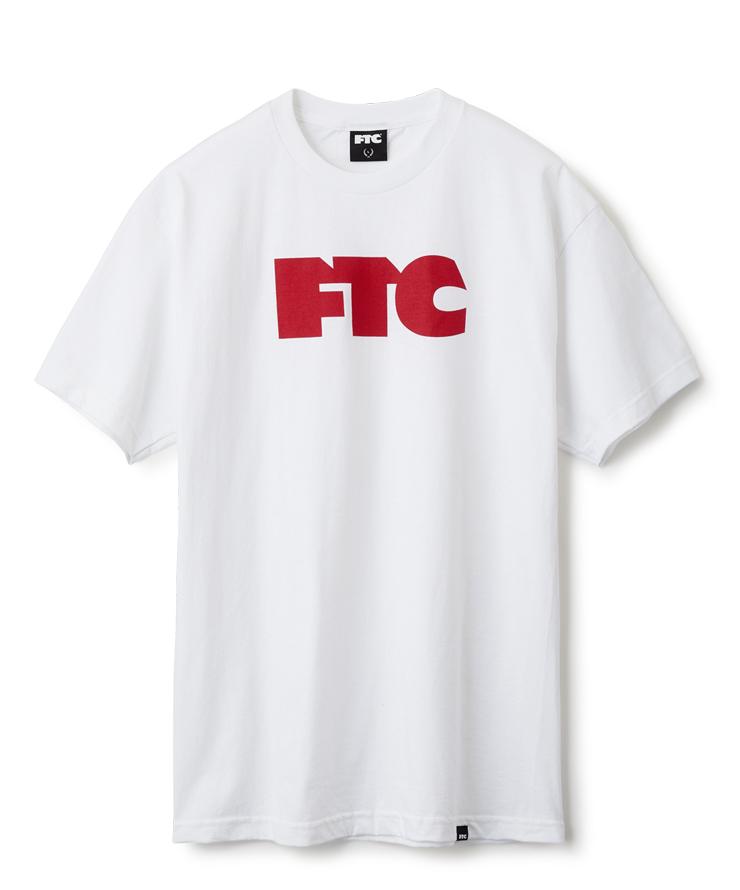 """画像1: FTC """"FTC OG LOGO TEE"""" - WHITE (1)"""