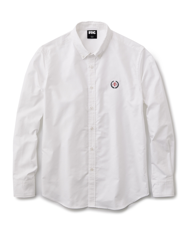 画像1: FTC [エフティーシー] OXFORD B.D SHIRT - WHITE (1)