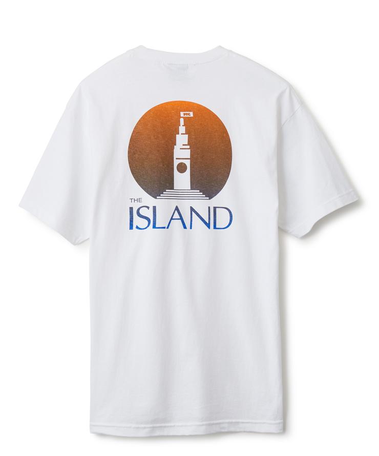 """画像1: FTC """"ISLAND TEE"""" - WHITE (1)"""