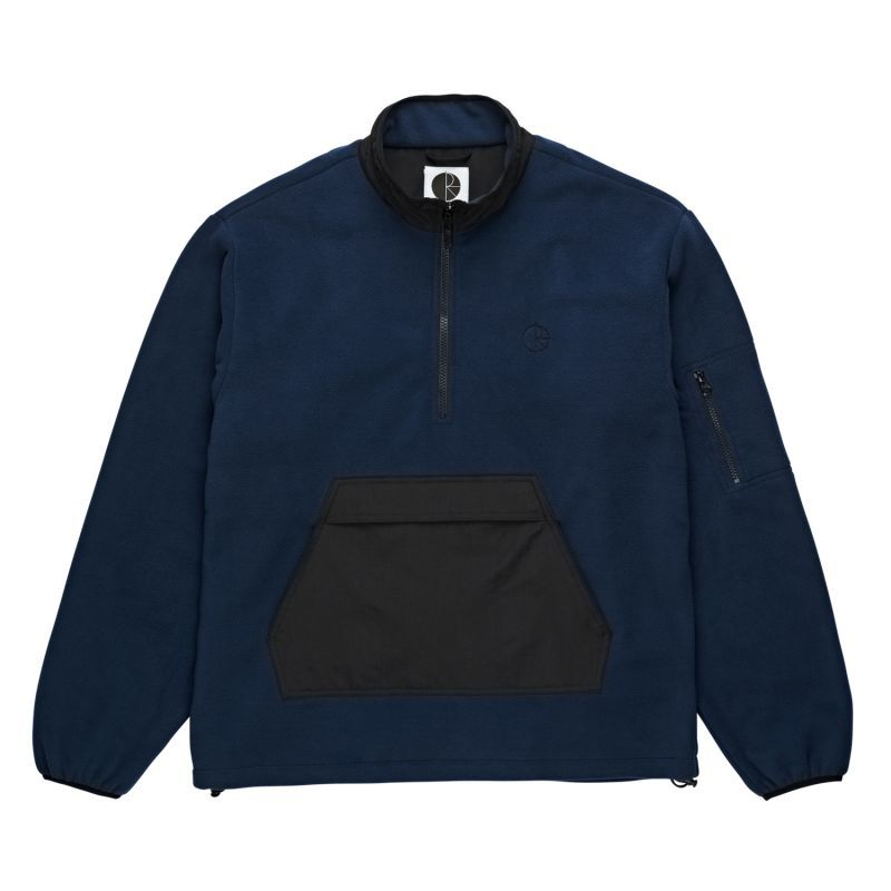 "画像1: POLAR SKATE CO. 'GONZALEZ FLEECE JACKET""-OBSIDLAN BLUE (1)"
