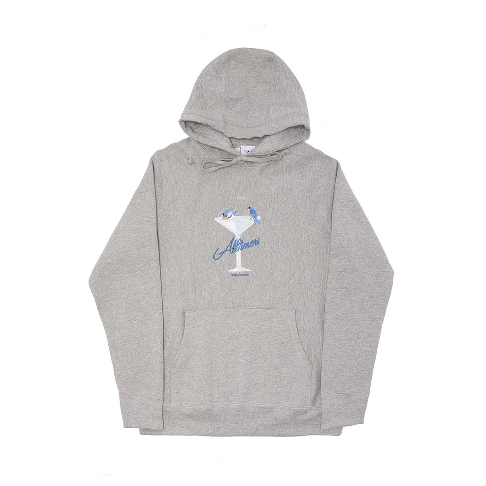 "画像1: ALLTIMERS ""BIRDBATH PREMIUM HOODY-HEATHER GREY"" (1)"
