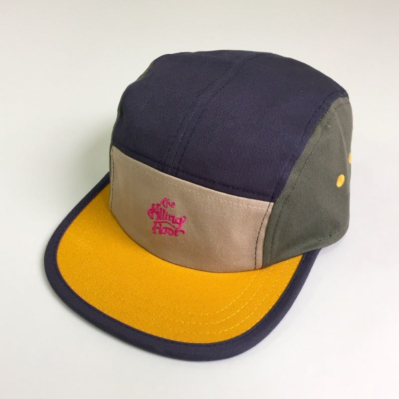 画像1: THE KILLING FLOOR [ザ キリング フロア] COLOR VOLLEY CAP KHAKI/NVY/OLIVE (1)