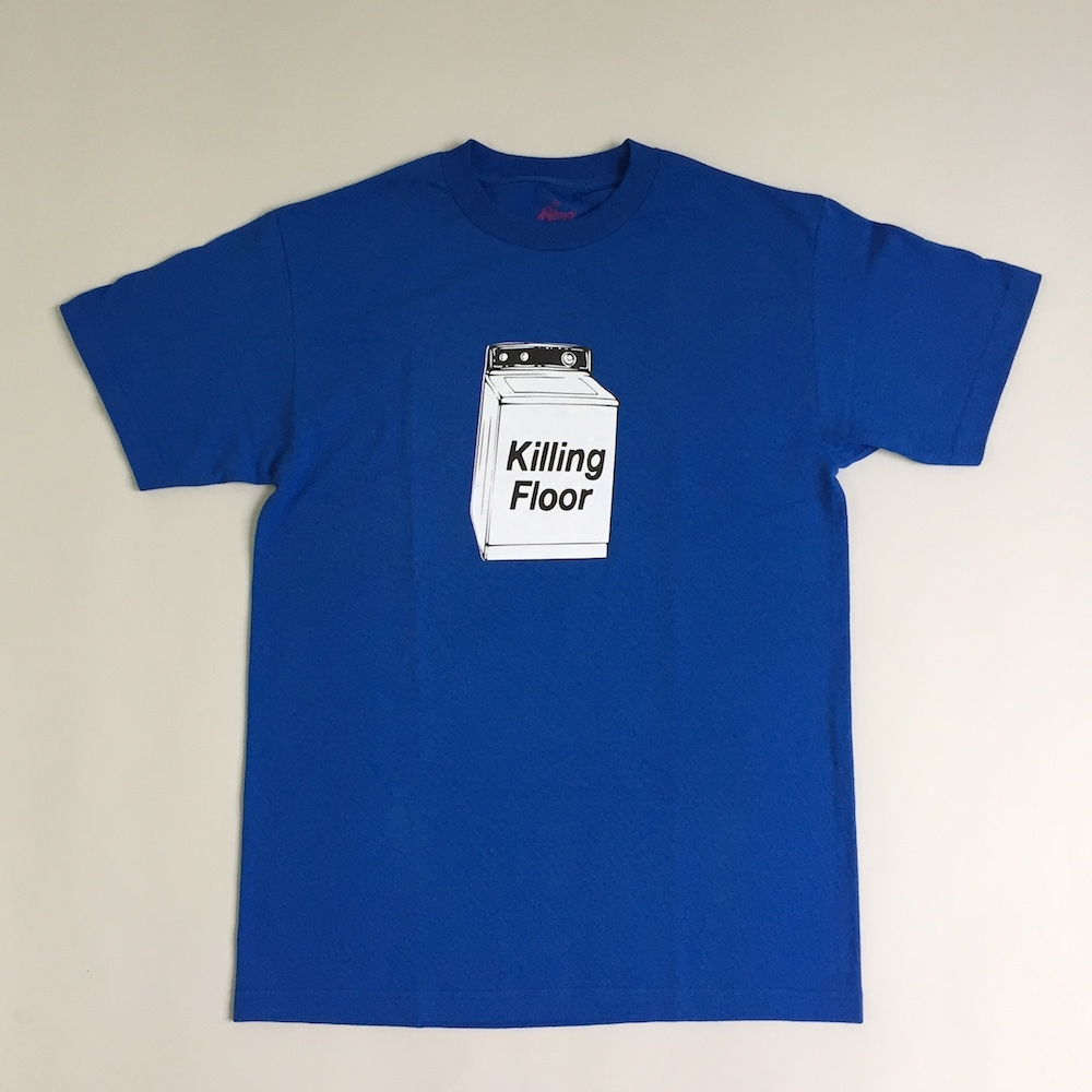 画像1: THE KILLING FLOOR [ザ キリング フロア] WASHING MACHINE TEE COBALT (1)