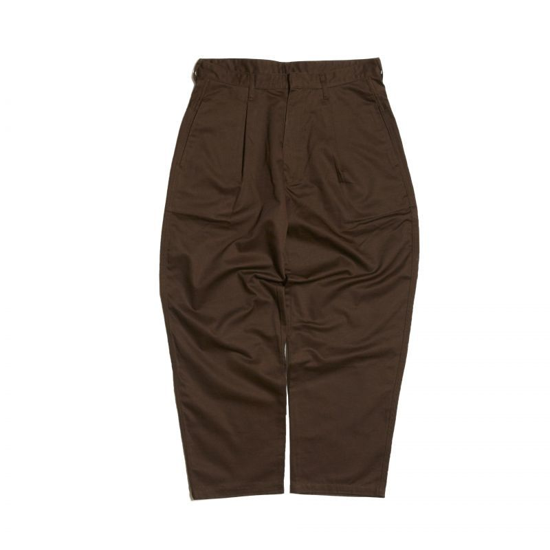 画像1: HELLRAZOR [ヘルレイザー] EASY TROUSERS  BROWN (1)