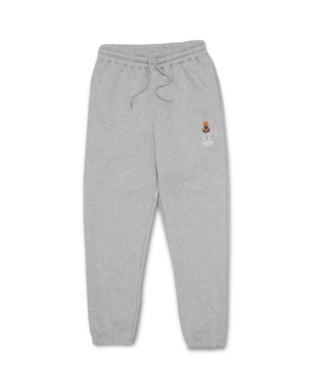 "画像1: QUARTER SNACKS ""SNACKMAN SWEATPANTS"" - H.GREY (1)"